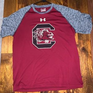 Under Armour South Carolina tech shirt L